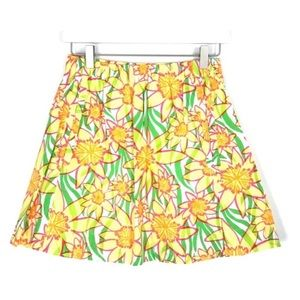 Lilly Pulitzer Dobby Daffies Cissy Floral Skirt